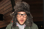 Matt Cardle Fur Hat