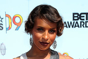 Melody Thornton Retro Updo