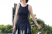 Michelle Dockery Mini Dress