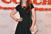 Michelle Trachtenberg Little Black Dress