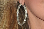 Morgan Fairchild Diamond Hoops