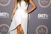 Adrienne Bailon Strapless Dress