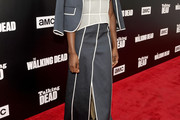 Danai Gurira Skirt Suit