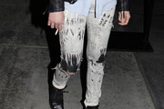 Daveigh Chase Ripped Jeans