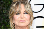 Goldie Hawn Messy Updo