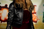Natascha McElhone Leather Jacket