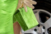 Queen Maxima Suede Clutch