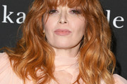 Natasha Lyonne Long Wavy Cut with Bangs