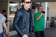 Nicolas Cage Leather Jacket