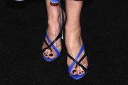 Joely Richardson Strappy Sandals