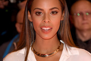 Rochelle Humes Long Straight Cut
