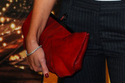 Lauren Pope Leather Clutch