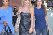 Brandi Glanville Leather Dress