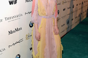 Elle Fanning Maxi Dress