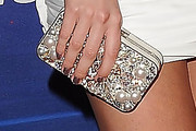Sara Paxton Beaded Clutch