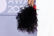 Adwoa Aboah Feathered Clutch