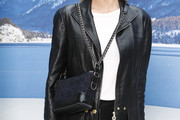 Poppy Delevingne Chain Strap Bag