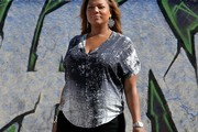 Queen Latifah Print Blouse