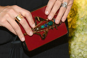 Molly Sims Beaded Clutch