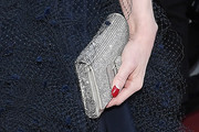Dita Von Teese Metallic Clutch