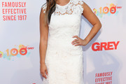 Jenna Ushkowitz Embroidered Dress