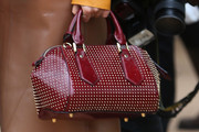 Paloma Faith Studded Bowler Bag