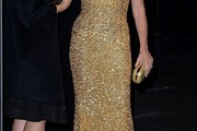 Penelope Cruz Beaded Dress