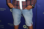 Pharrell Williams Jean Shorts
