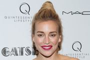 Piper Perabo Twisted Bun