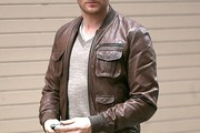 Michael Buble Bomber Jacket