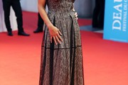 Michelle Rodriguez Lace Dress