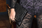 Alessandra Ambrosio Leather Clutch