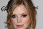 Dreama Walker Bobby Pinned Updo