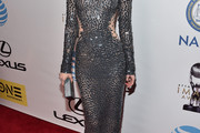 Darby Stanchfield Sequin Dress