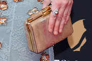 Eleanor Tomlinson Metallic Clutch