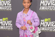 Quvenzhane Wallis Denim Jacket