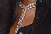 Naomi Campbell Diamond Statement Necklace