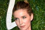 Annabelle Wallis Twisted Bun