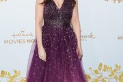 Lacey Chabert Beaded Dress