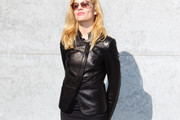 Micaela Ramazzotti Leather Jacket