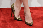 Emma Caulfield Evening Pumps