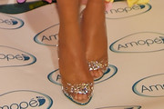 Chrissy Teigen Peep Toe Pumps