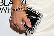 Robin Antin Metallic Clutch
