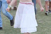 Rose McGowan Knee Length Skirt