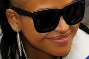 Cassie Dangling Diamond Earrings