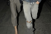 Rupert Friend Ripped Jeans