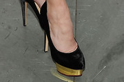 Mindy Grossman Platform Pumps