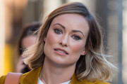 Olivia Wilde Short Side Part