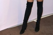 Lily Aldridge Over the Knee Boots