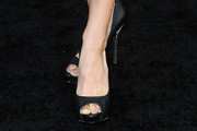 Samantha Harris Peep Toe Pumps